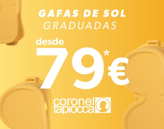 Gafas de Sol graduadas desde 79€