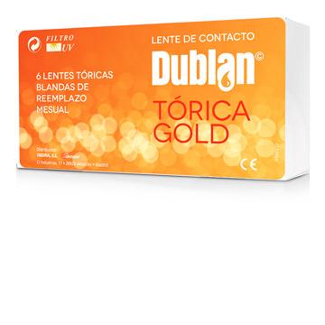 Dublan<br /> tórica gold