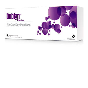 Dublan Premium One Day Air multifocal
