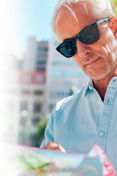 Protege tus ojos de los rayos nocivos del sol, también con progresivos.