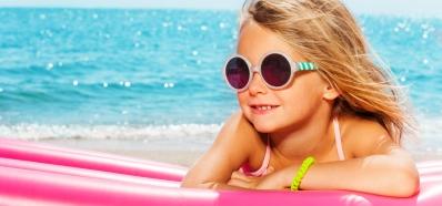 Protege los Ojos de los Niños en Verano